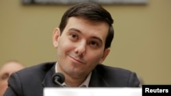 Martin Shkreli smiles during a House hearing on Capitol Hill in Washington February 4, 2016. (Reuters)