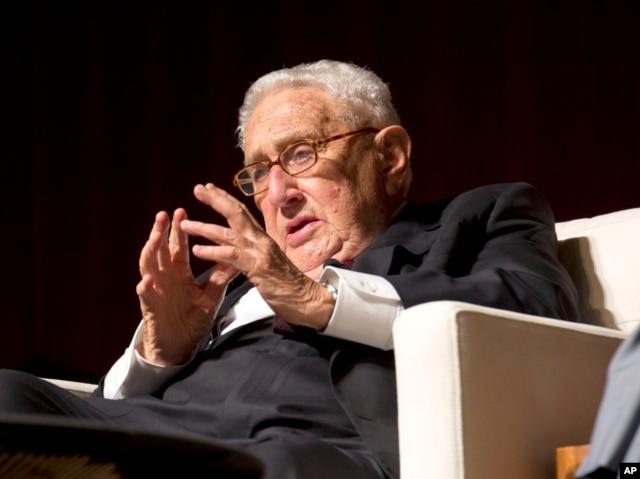 Cựu Ngoại trưởng Henry Kissinger, một trong những kiến trúc sư trưởng chính sách của Mỹ trong thời chiến Việt Nam.