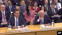 Ενώπιον επιτροπής του Βρετανικού Κοινοβουλίου ο Ρούπερτ Μέρντοκ