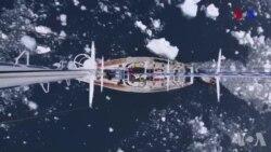 Arktikada okean buzu sürətlə əriməyə davam edir