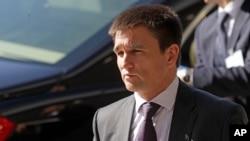 Ukrajinski šef diplomatije Pavlo Klimkin