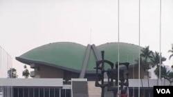 Gedung DPR RI saat ini, yang menurut Badan Urusan Rumah Tangga DPR, sudah penuh sesak.