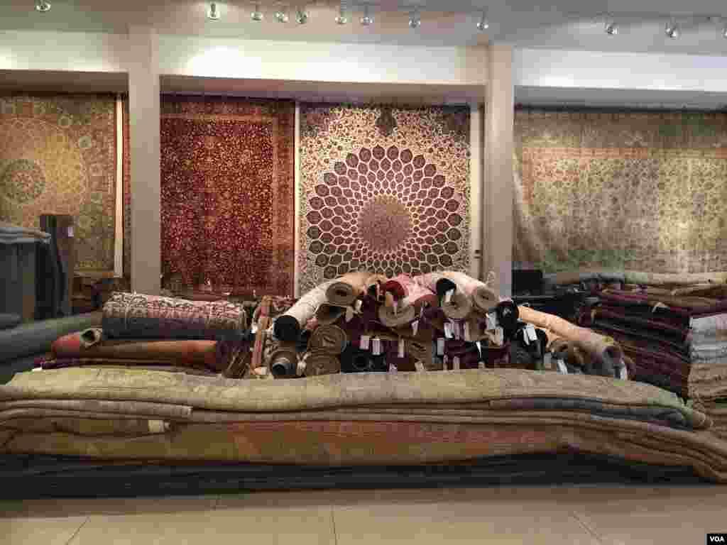 فروشگاههای فرش ایرانی در لس آنجلس