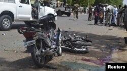 Serangan bunuh diri oleh militan Boko Haram di Ndjamena, ibukota Chad, bulan Juni lalu (foto: dok). Chad kembali dilanda serangan bom bunuh diri yang diduga dilakukan Boko Haram, Minggu 8/11.