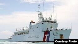 台灣海巡署巡邏船(海巡署網站)