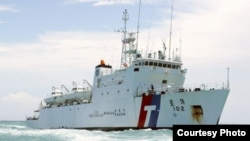 台湾海巡署巡逻船(海巡署网站)
