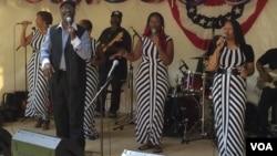 Группа музыкантов Jones Family Singers из Техаса