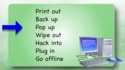 Everyday Grammar: Phrasal Verbs (Technology)