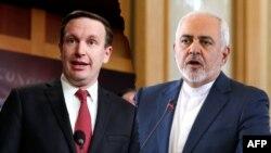 د ایران د بهرنیو چارو وزیر جواد ظریف او امریکایي سناتور کریس مورفي