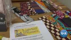 Crocheting With Plastic: Art, Recycling and Learning Money-Making Skills