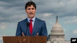 加拿大總理杜魯多(Justin Trudeau)於6月20日資料照。