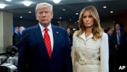 Дональд и Мелания Трамп (архивное фото)
