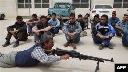 Pripadnici libijske opozicije