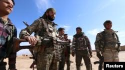 Haseke'de Suriye Demokratik Güçleri'ne bağlı milisler