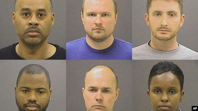 Шестеро полицейских, участвовавших в аресте Грея