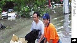 台风袭击亚洲东部50多人死亡