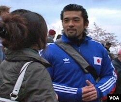 Noritaka Takezawa, warga Washington DC asal Jepang