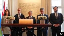 در ابتدای این جلسه،مقامات پنج کشوری که شهروندانشان در سرنگونی هواپیما در تهران کشته شدند، به قربانیان ادای احترام کردند.
