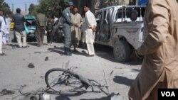 بر اثر این انفجار 18 تن زخم برداشتند كه در بین آنها 3 زن و یك پولیس ترافیک نیز شامل می باشند.
