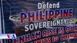 Philippines siết chặt quản lý bãi đá Benham Rise