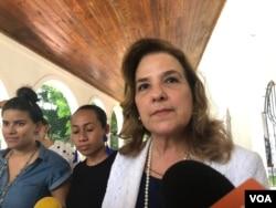 Lucy Valenti, presidenta de la Cámara Nacional de Turismo de Nicaragua.