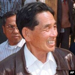 果敢武装首领彭家声1999年资料照。