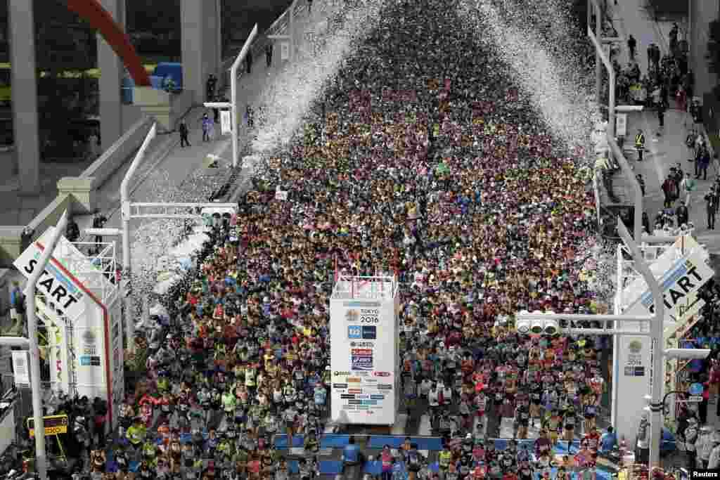 2016 Tokyo Maratonu.