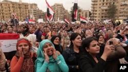 Kahire'nin Tahrir Meydanında gösteriler devam ediyor