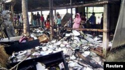 Bangladeshda muxolifat saylov uchastkalariga o't qo'ydi, Feni, 4-yanvar, 2014-yil