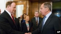 Міністр закордонних справ Росії Лавров протягом зустрічі з сенатором США Шелбі