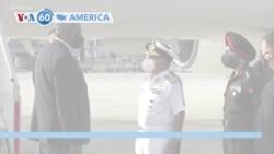 VOA60 America - U.S. Defense Secretary Lloyd Austin has arrived in New Delhi