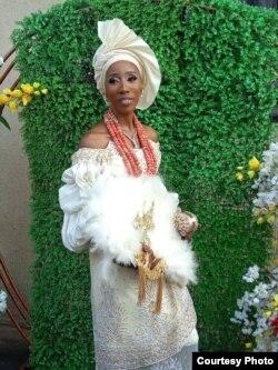 Fifi Egbebu terpaksa menikah jarak jauh dengan suaminya akibat pandemi COVID-19 (dok: Fifi Egbebu)