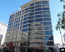 距离三个街区远的彭博新闻社华盛顿办公室