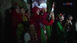 کراچی میں الیکشن کی جیت کا جشن اور ہارنے پر احتجاج