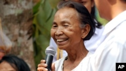 Im Chaem was a Khmer Rouge district chief in the late 1970s.