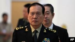 中國國防部長魏鳳和(美聯社2018年6月18日)