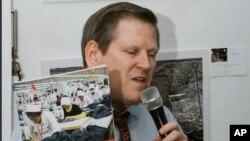 Phil Robertson, dari Human Rights Watch, memuji langkah PBB membuka kantor di Seoul untuk mendokumentasi pelanggaran HAM di Korea Utara (foto: dok).