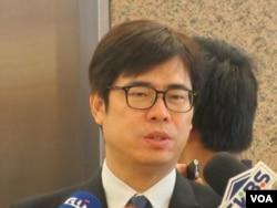 台灣在野黨民進黨立委陳其(美國之音張永泰拍攝)