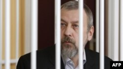 Андрій Санніков під час сулдового процесу
