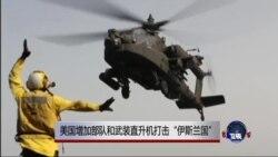 """美国增加部队和武装直升机打击""""伊斯兰国"""""""