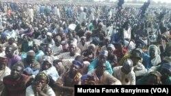 Jama'a a taron IZALA da ya wakana a Sokoto