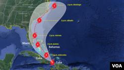 La preocupación aumentó también en la costa este de Estados Unidos, a donde se espera que llegue la tormenta tras dos días cruzando Bahamas.