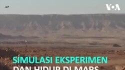 Simulasi Mars di Gurun Israel