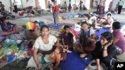 缅甸难民中多是老幼病残