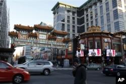 华盛顿特区中国城牌楼