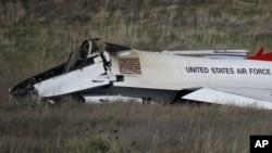 کولوراڈو سپرنگز میں گرنے والا فوجی طیارہ