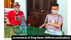 Hai trong số 21 người Trung Quốc bị cho là nhập cảnh trái phép và lưu trú ở Quảng Nam (VN), 18/7/2020