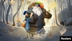 """""""Klaus"""", una historia de cómo nació Santa, es la primera película animada original de Netflix y es parte de un esfuerzo por ampliar su contenido familiar, ya que compite con nuevos rivales de transmisión en línea, incluido Walt Disney Co."""