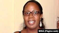 Ana Margoso, jornalista angolana e activista direitos humanos