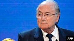 Ông Sepp Blatter, Chủ tịch Liên đoàn Bóng đá thế giới